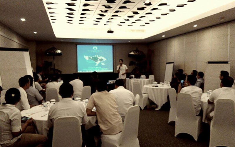 IDEP was invited by the Bali Hotel Association to present the Bali Water Protection program to a pool of hotel environmental and engineering managers