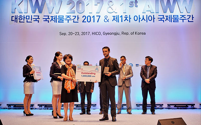 "BWP won the ""Outstanding trophy"" in the international contest ""World Water Challenge 2017"""
