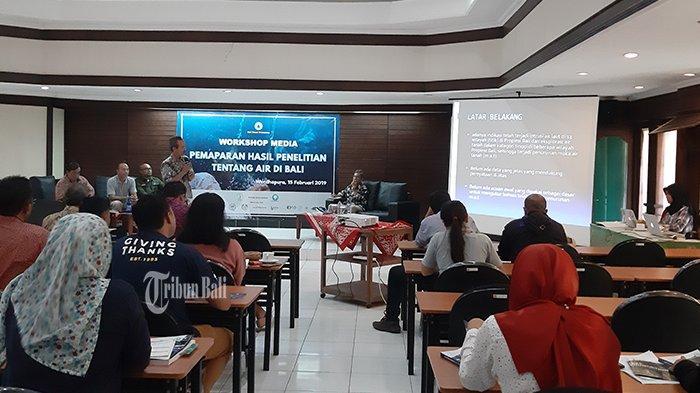 RILIS PERS Hasil Penelitian Program Bali Water Protection 2018 – Yayasan IDEP Selaras Alam – Politeknik Negeri Bali